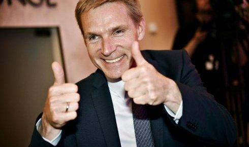 Kristian Thulesen Dahl, le leader du Parti populaire danois - Crédit : Scanpix Danemark / AFP – Linda Kastrup