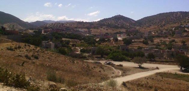Vue à la sortie du village. Début de l'intérieur du pays - Crédit Carolina Duarte de Jesus
