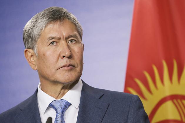 Le président du Kirghizistan Atambaiev - Crédit : Martin Schulz