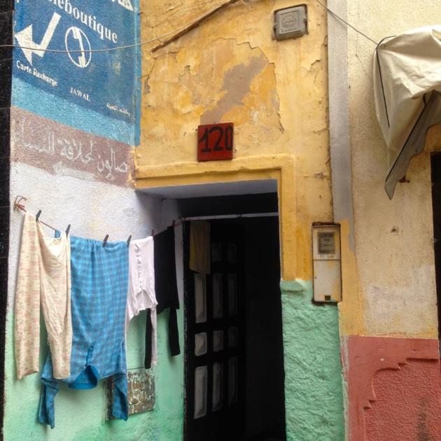 Quartier résidentiel à la médina d'Aljadida - Crédit : Jenny Gustafsson