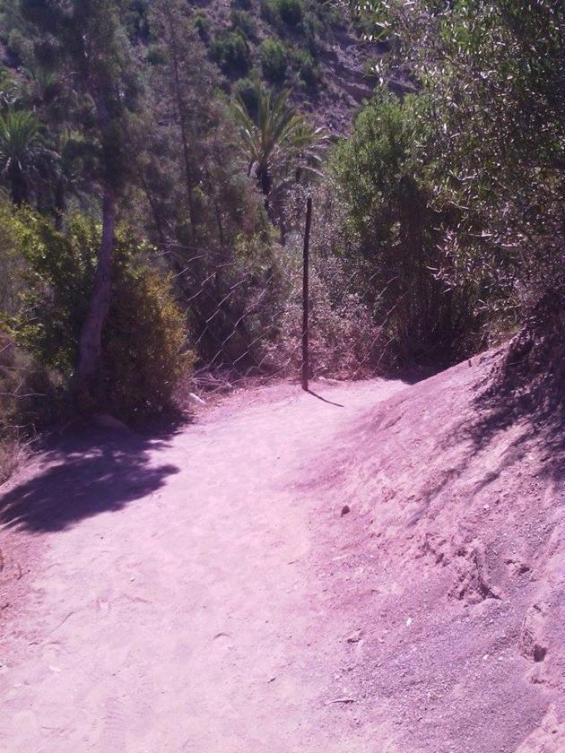 Camino de tierra - Créditos Carolina Duarte de Jesus