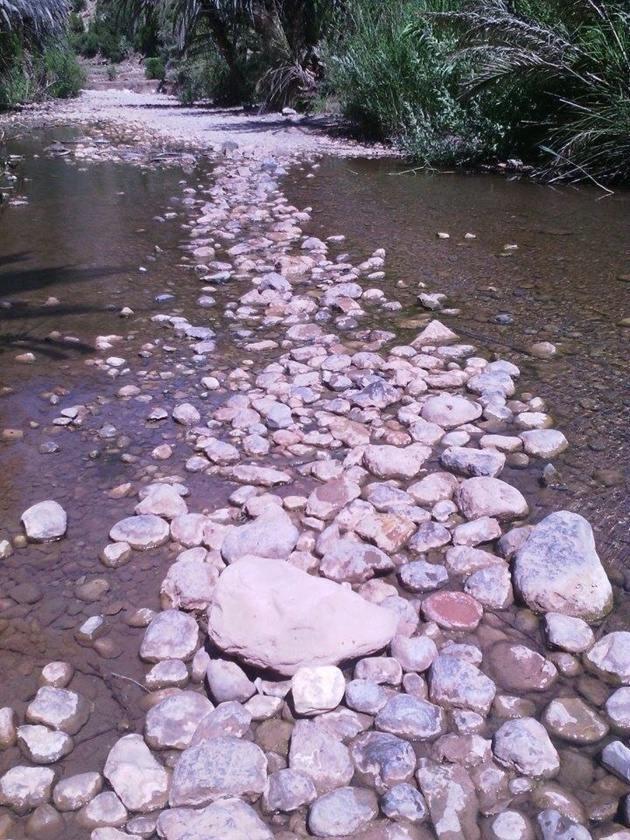 Percorso di pietre - Fonte Carolina Duarte de Jesus