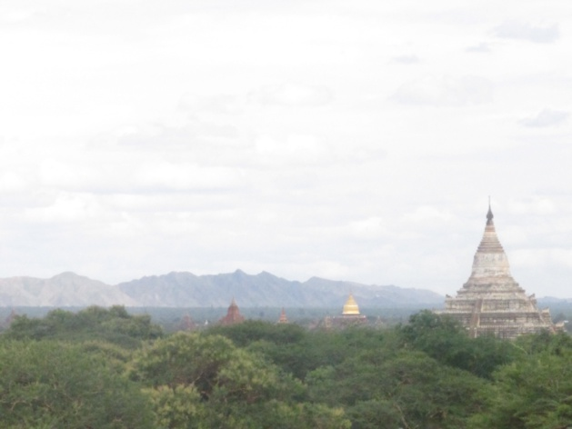 Catena montuosa di Rakhine Yoma. Fonte: Gemma Kentish