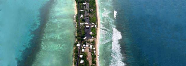 Tuvalu. Crédit Archives AP