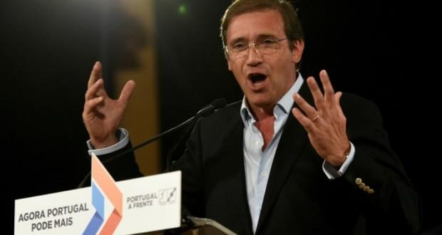 «Le Portugal peut désormais plus»/«Le Portugal en avant», Pedro Passos Coelho (PSD). Source: AFP