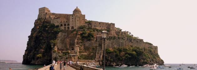 Château de l'île d'Ischia - Crédit Nelly Gabriel