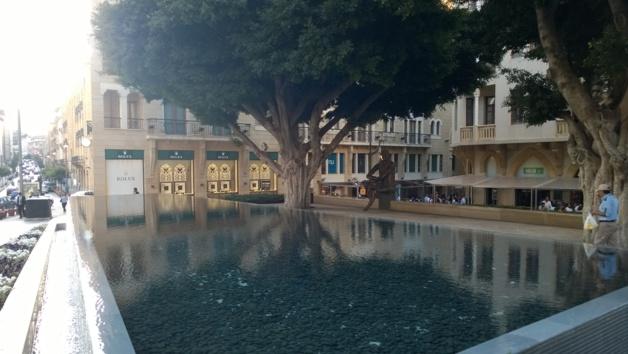 Place Samir Kassir, centre-ville - Crédit Salomé Ietter