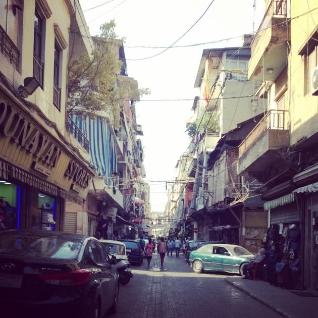 Bourj Hammoud - Crédit Salomé Ietter