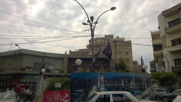Un rond point de Tripoli - Crédit Salomé Ietter