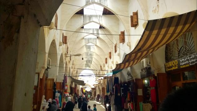 Caravansérail de Tripoli - Crédit Salomé Ietter