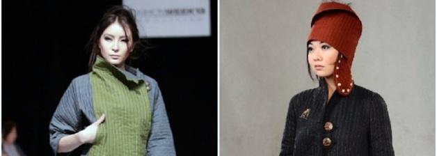 Un défilé de mode et un modèle pour femme réalisés par Jumagul Sarieva - Crédit DR
