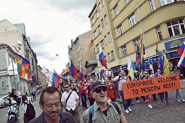 Gay Pride a Riga nel giugno 2015. Fonte Julija Stancevičiūtė