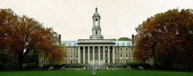 Pennsylvania State University identificó 84 casos de agresiones sexuales entre 2010 et 2012. Crédito Penn State Archives