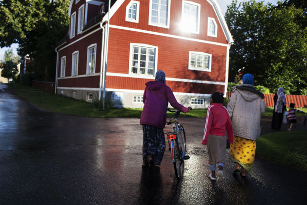 A Somalian family who found refuge in Sweden before the recent refugee crisis – Credits by Loulou d'Aki