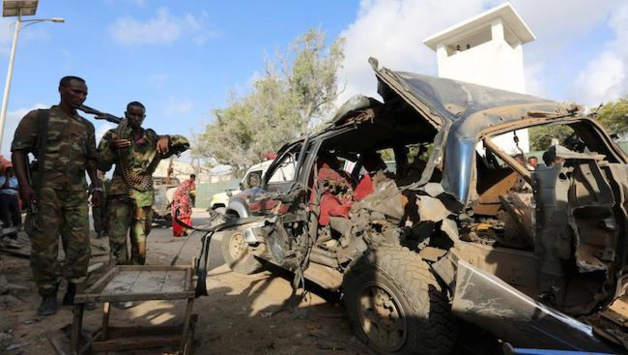 Les membres du groupe islamiste «Al Shabab» en Somalie (Crédits : Feisal Omar)