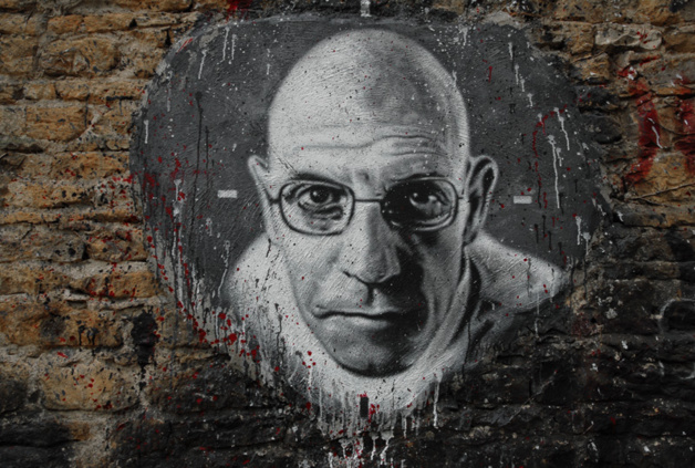 Michel Foucault, defender of a universal basic income. Credits: Thierry Ehrmann