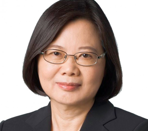 Tsai Ing-wen, présidente de Taïwan. Crédit Taïwan Headline News.
