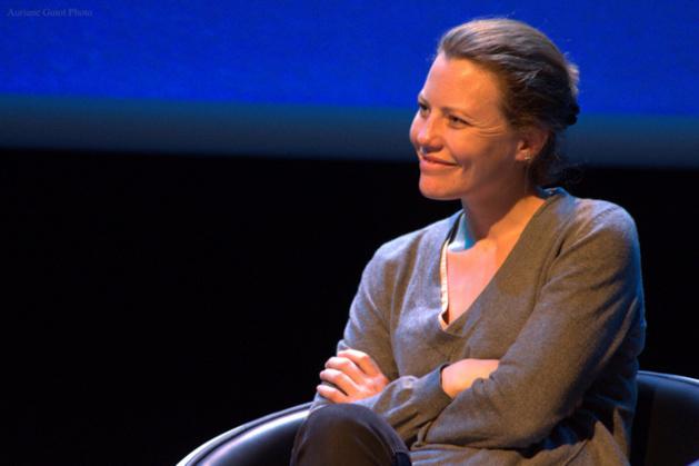 La journaliste britannique Sarah Harrison, numéro 2 de WikiLeaks. Crédit Auriane Guiot.