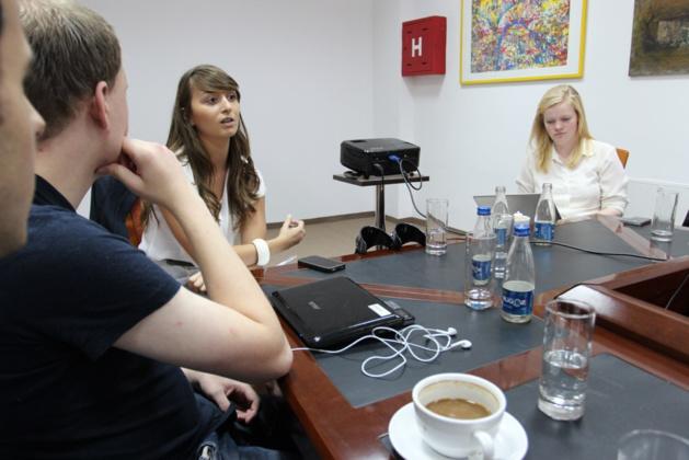 L'équipe de Kosovo 2.0. Crédit : Flickr (LNU foto).