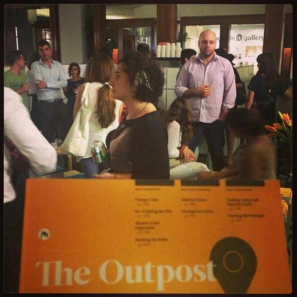 Lancement de The Outpost à Dubaï (Émirats arabes unis) en mai 2013. Crédit : Ayman Itani