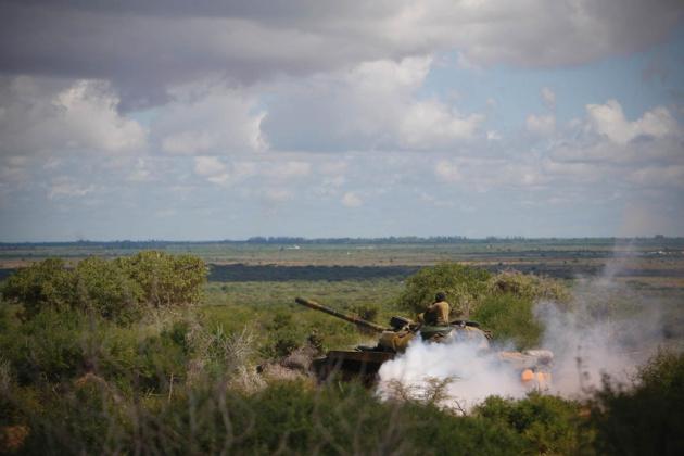 AMISOM et l'armée nationale somalienne tentent de repousser Al Shabaab du corridor d'Afgoye. Crédits : Flickr / AMISOM Public Information