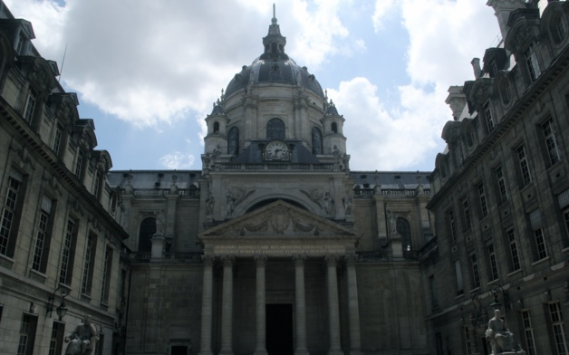 Cour d'honneur de la Sorbonne. Une partie des comités se sont réunis cette semaine dans la plus vieille université de France. - Crédit Lisa Hugouvieux