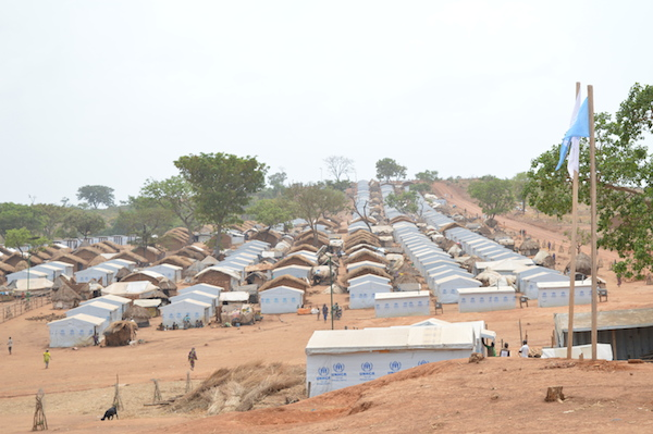 Camps des réfugiés de Borgop, dans la région de l'Adamaoua. Crédits : Aboubakar Dewa