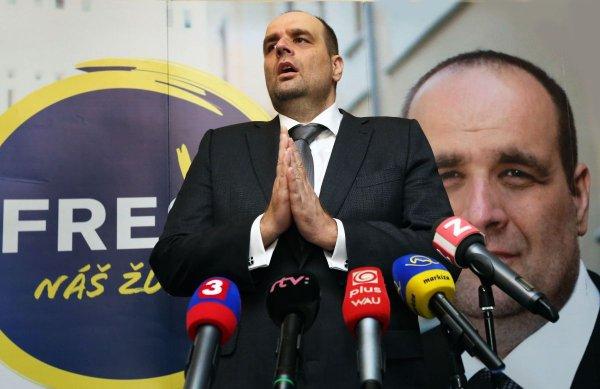 Pavol Frešo, président de SDKU | Crédit Photo --- hnonline.sk