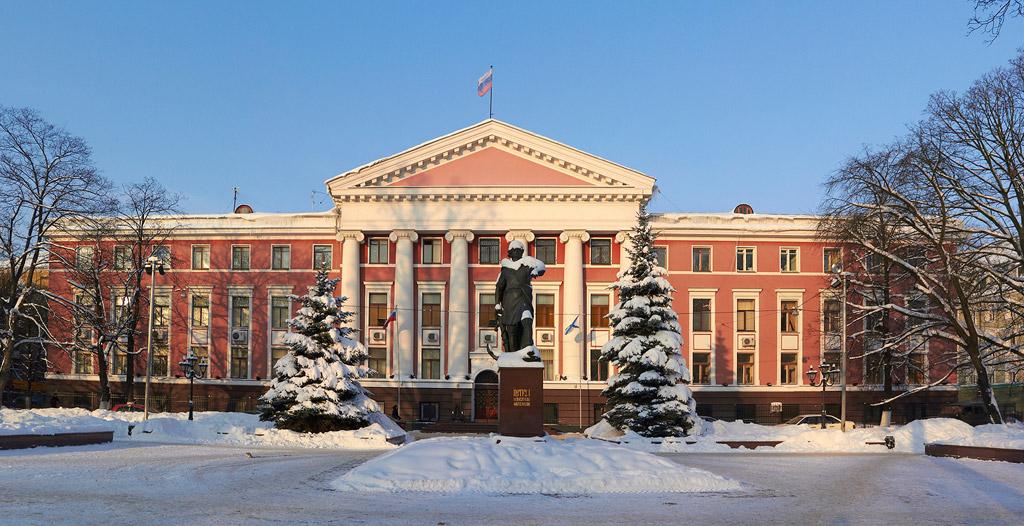 Quartier-général de la Flotte de la Baltique à Kaliningrad | Crédits photo -- krasnayazvezda.com