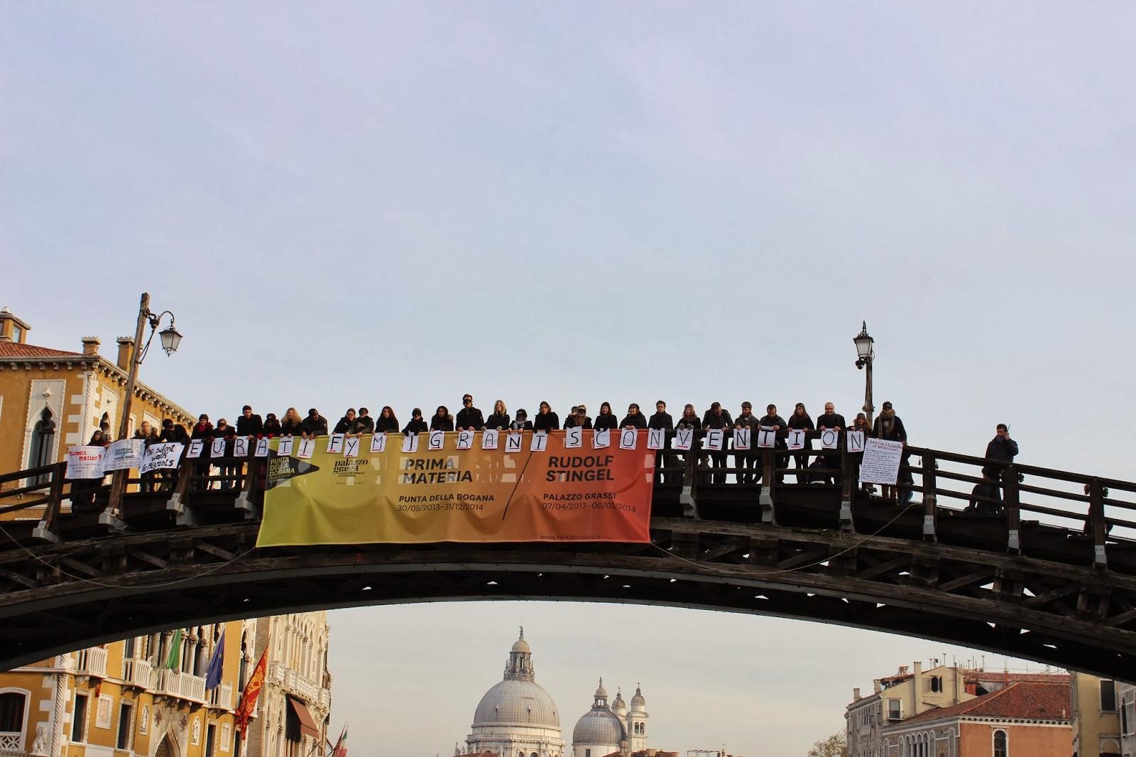 Journée internationale des migrants, 18 décembre 2013 | Crédit Photo ---  EMA Students | migrants-matter.blogspot.it