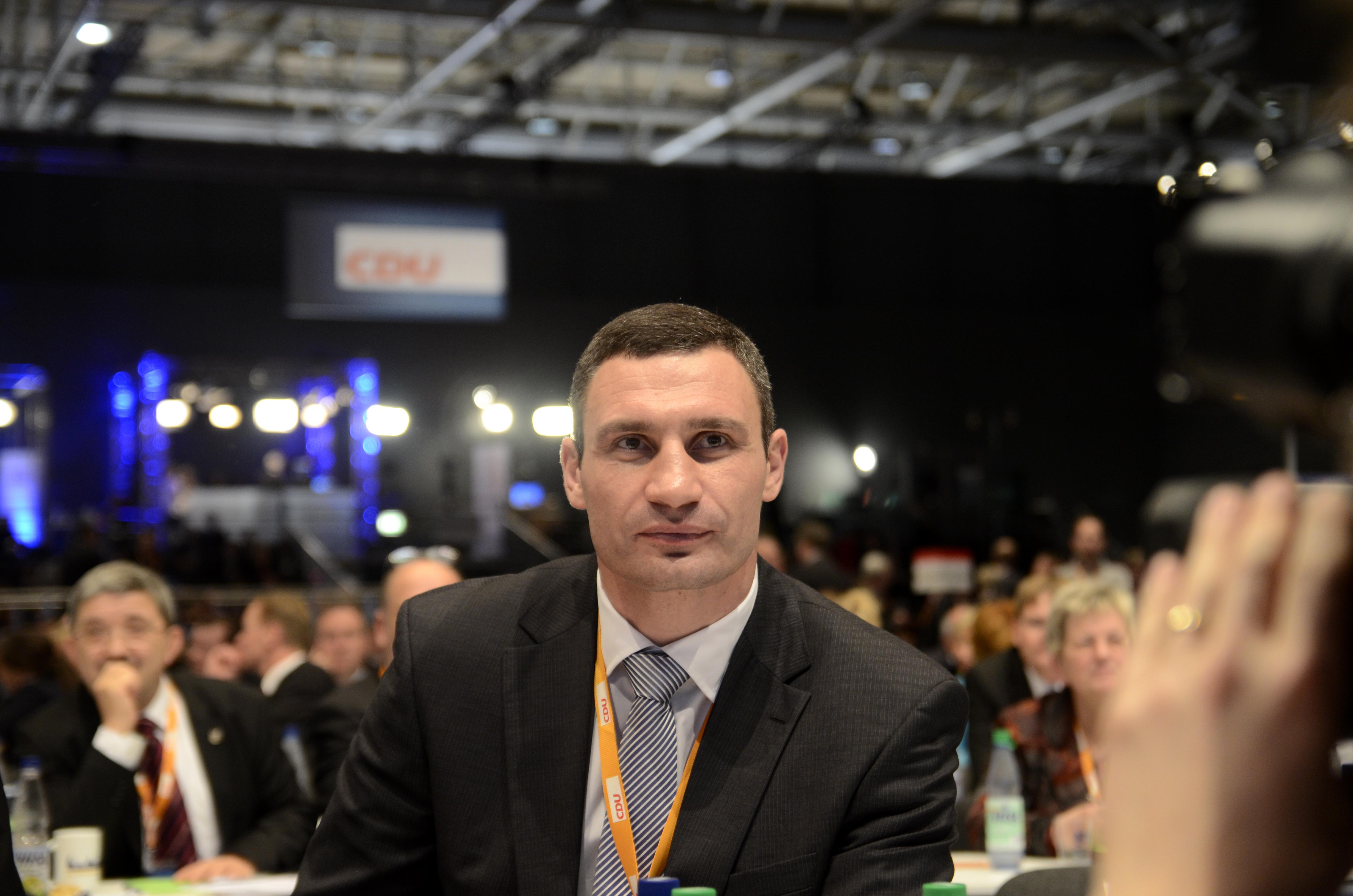 Vitali Klitschko, leader du parti Alliance démocratique ukrainienne pour la réforme