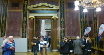 Délégation du FPÖ au Parlement autrichien, Octobre 2013. Crédit photo Thierry Avice