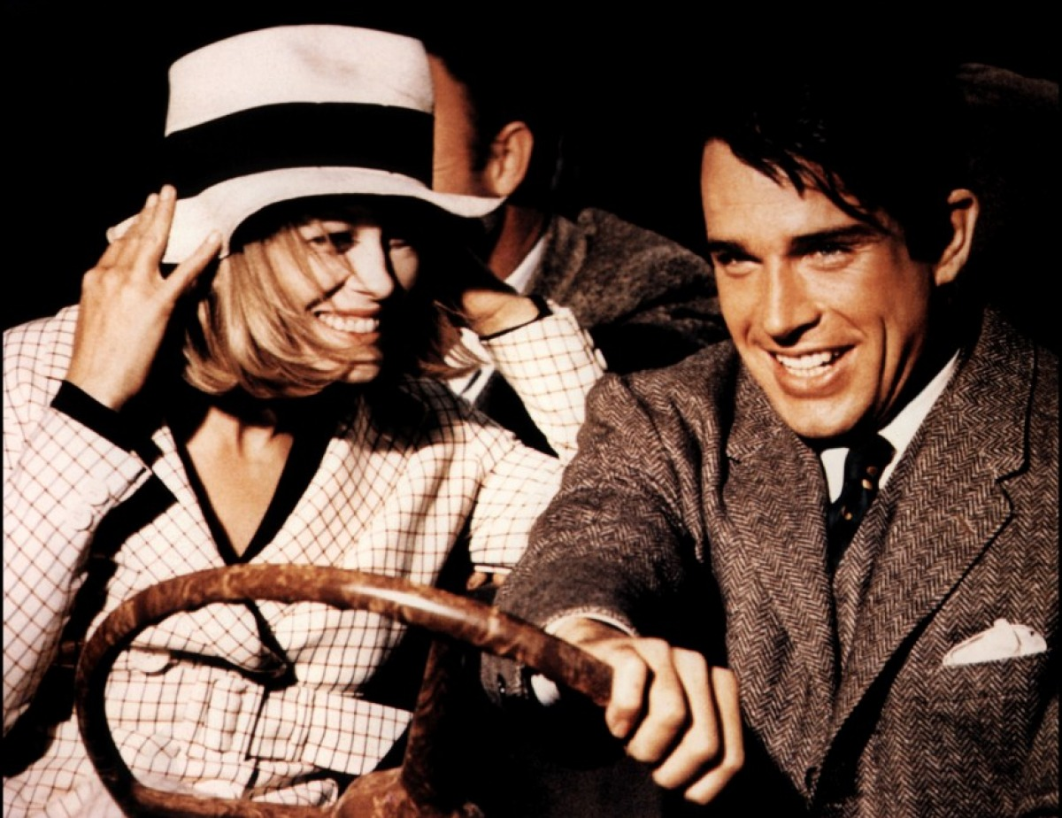 Image extraite du film Bonnie and Clyde d'Arthur Penn avec Faye Dunaway et Warren Beatty (1967).