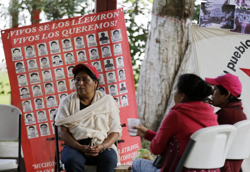 « Ils nous les ont pris vivants, vivants nous les voulons ». Crédit Henry Romero/Reuters