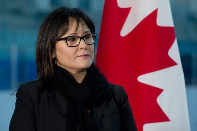 Crédit Adrian Wyld. Leona Aglukkaq, ministre de la Santé, ministre de l'agence canadienne de développement économique du Nord et ministre du Conseil de l'Arctique