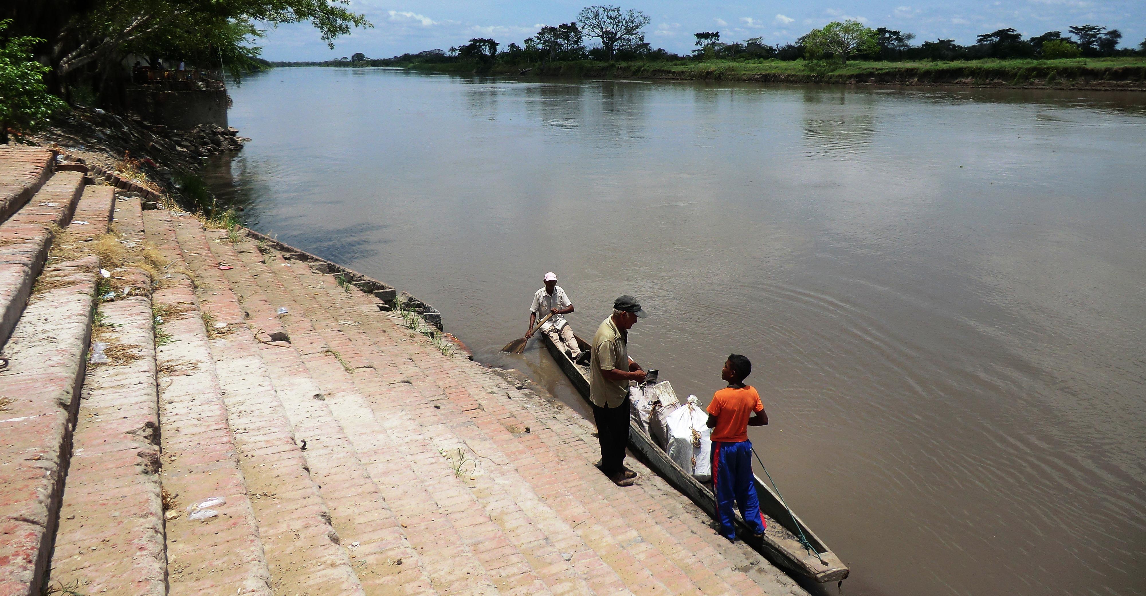 Le fleuve Magdalena - Crédit Ben Box