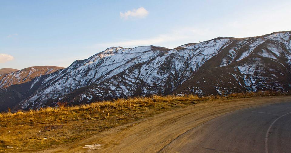Route entre l'Arménie et l'Iran - crédit Regimantas Dannys