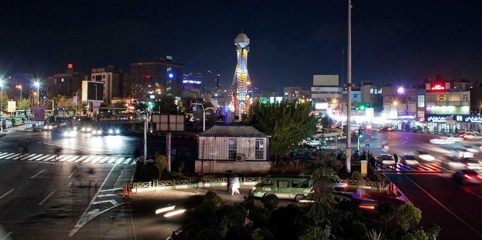 Téhéran de nuit - Crédit Regimantas Dannys