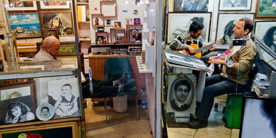 Dans les rues de Téhéran - Crédit Regimantas Dannys