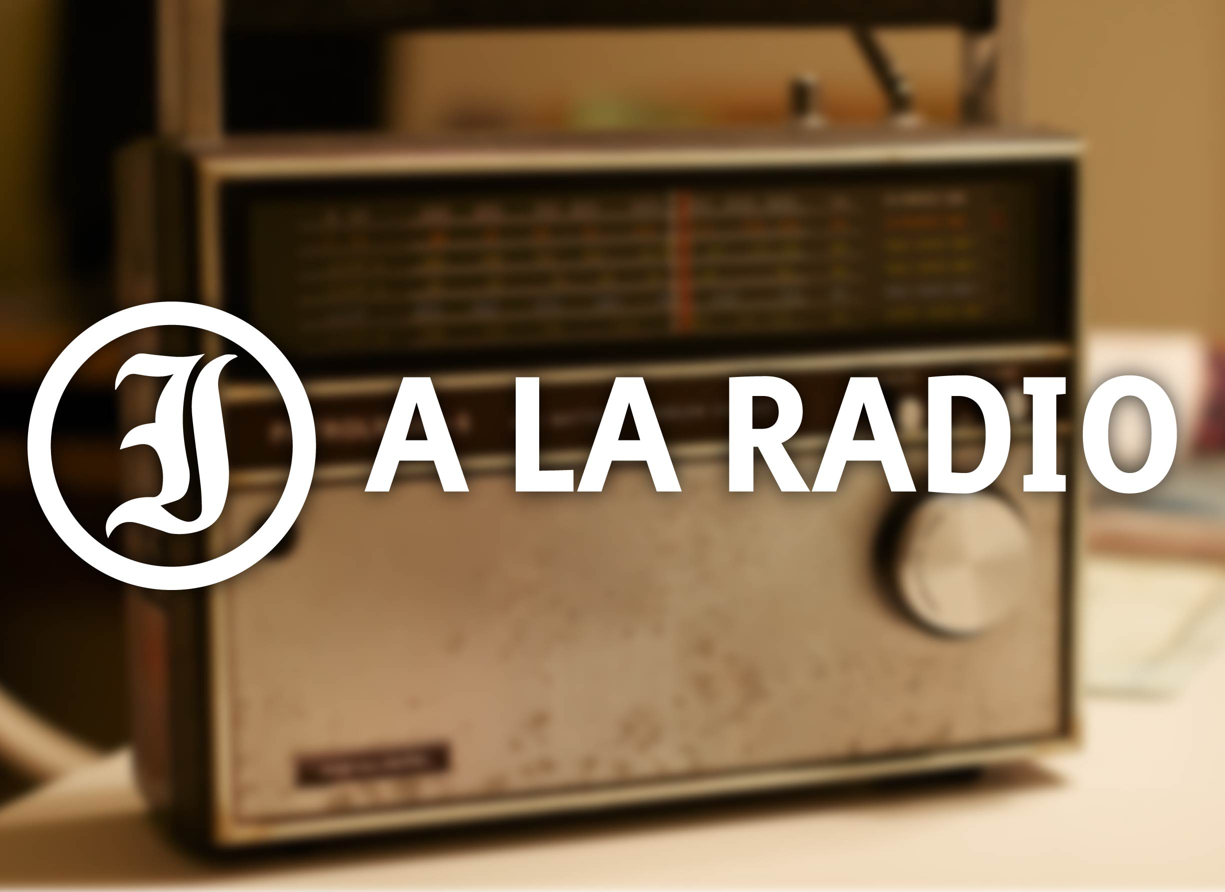 Le Journal International à la radio