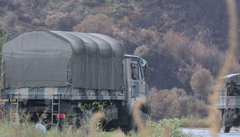 L'armée algérienne est présente au nord du pays pour lutter contre les djihadistes. Crédit AP/SIPA