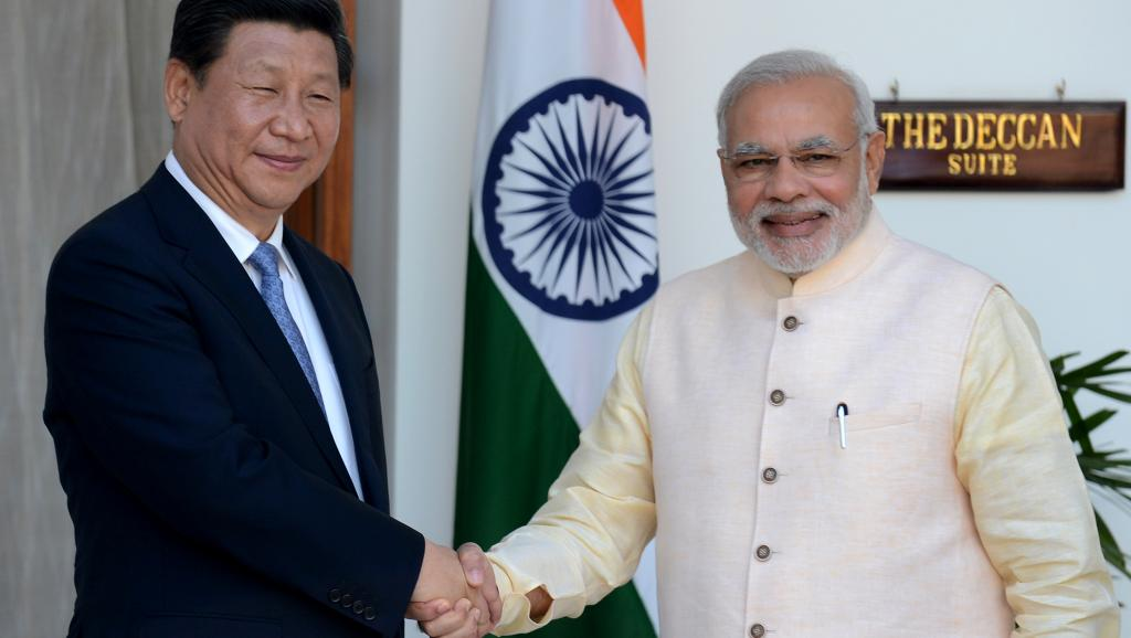 Les deux hommes s'étaient déjà rencontrés en septembre dernier. Crédit AFP/Raveendran