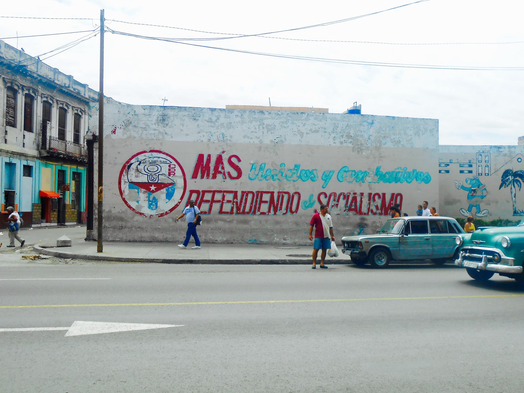Street art, La Havane - Crédit Virginie Urios