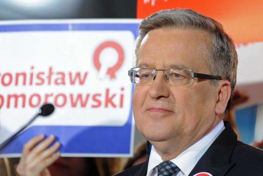 Komorowski. Crédit Alik Keplicz/AP