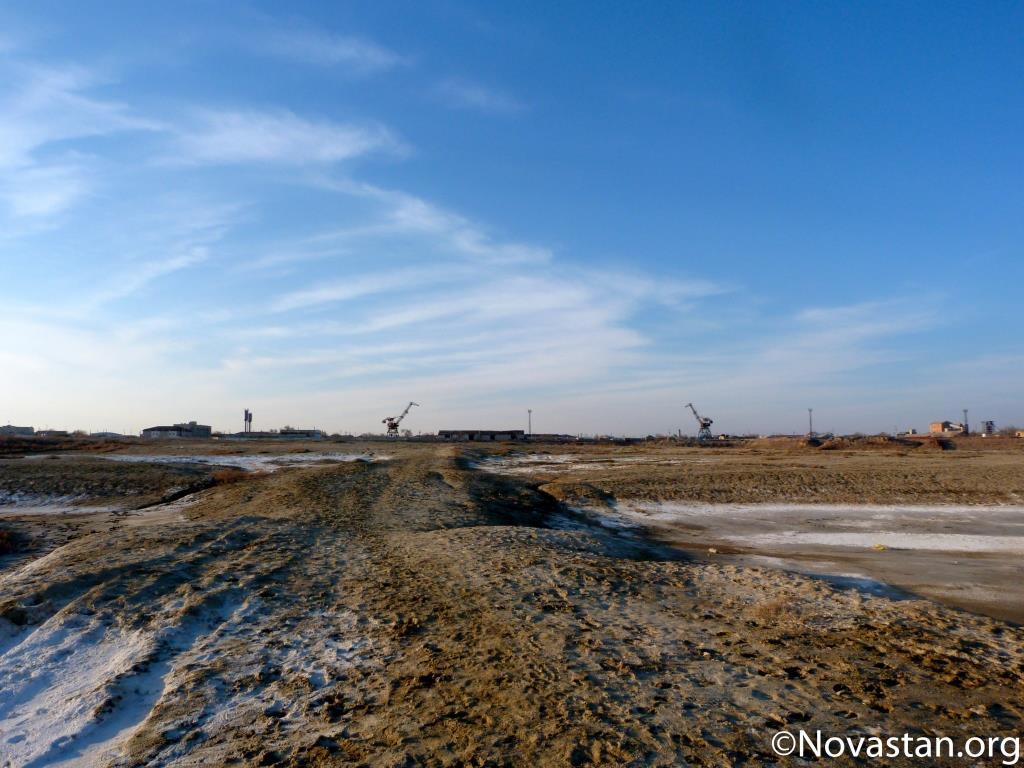 Aralsk, Kazakhstan. Crédit : Anatole Douaud