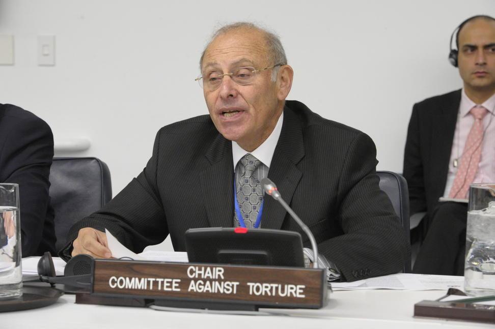 Claudio Grossman, le président du Comité de l'ONU contre la torture - Crédit : ONU/Evan Schneider