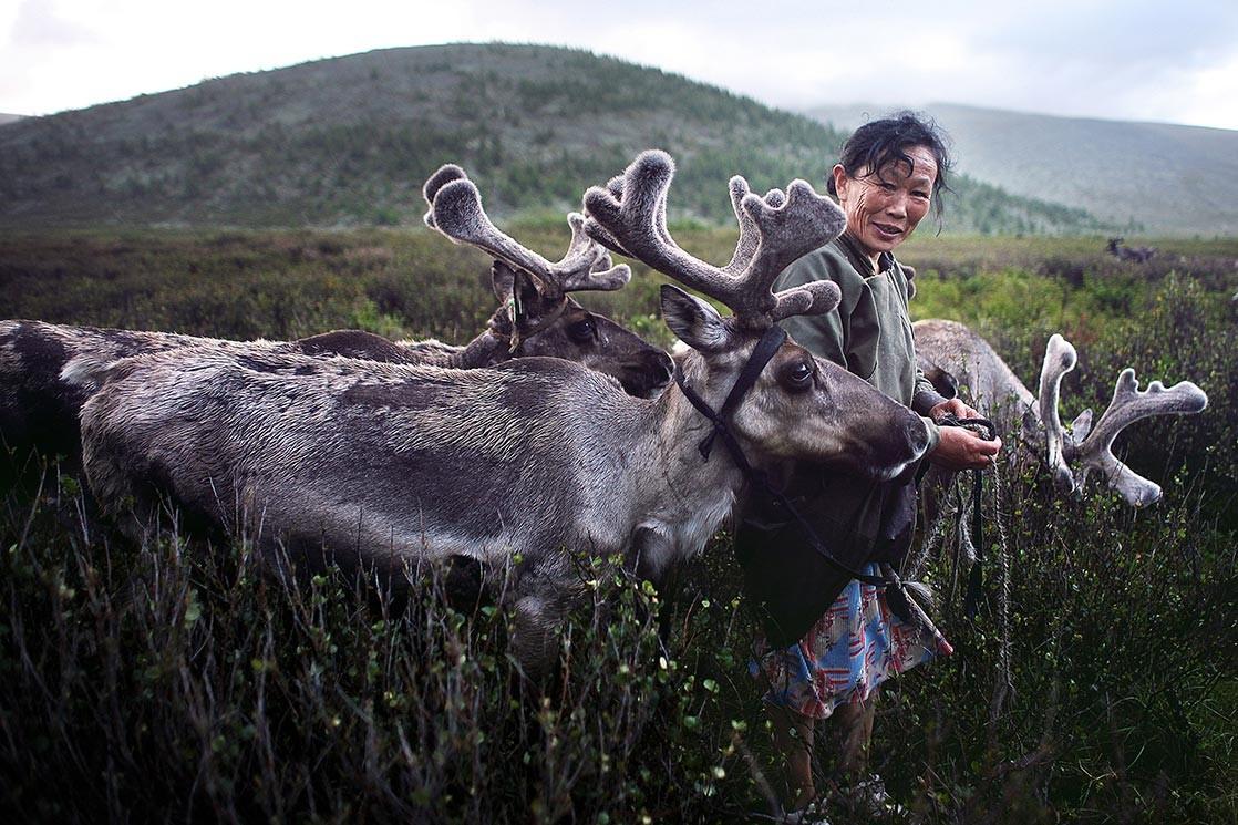 Tribu Tsaatan, Mongolie. Crédit Kares le Roy