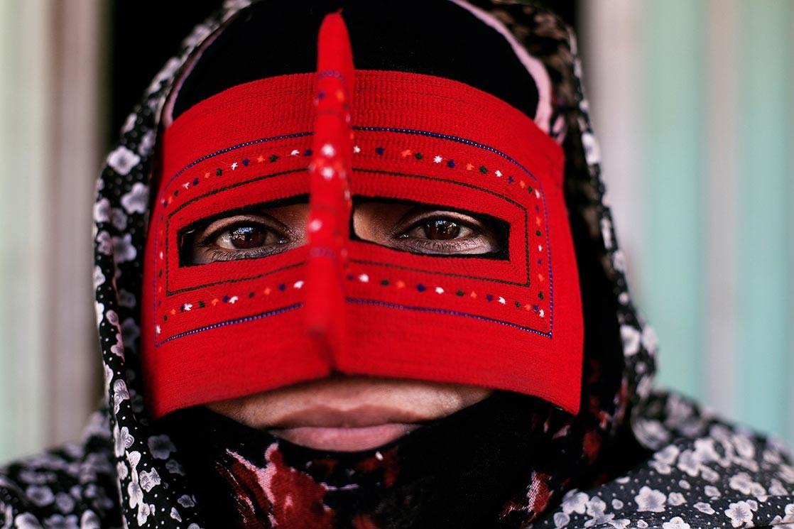 Femme Bandari du Golf Persique, Iran. Crédit Kares Le Roy