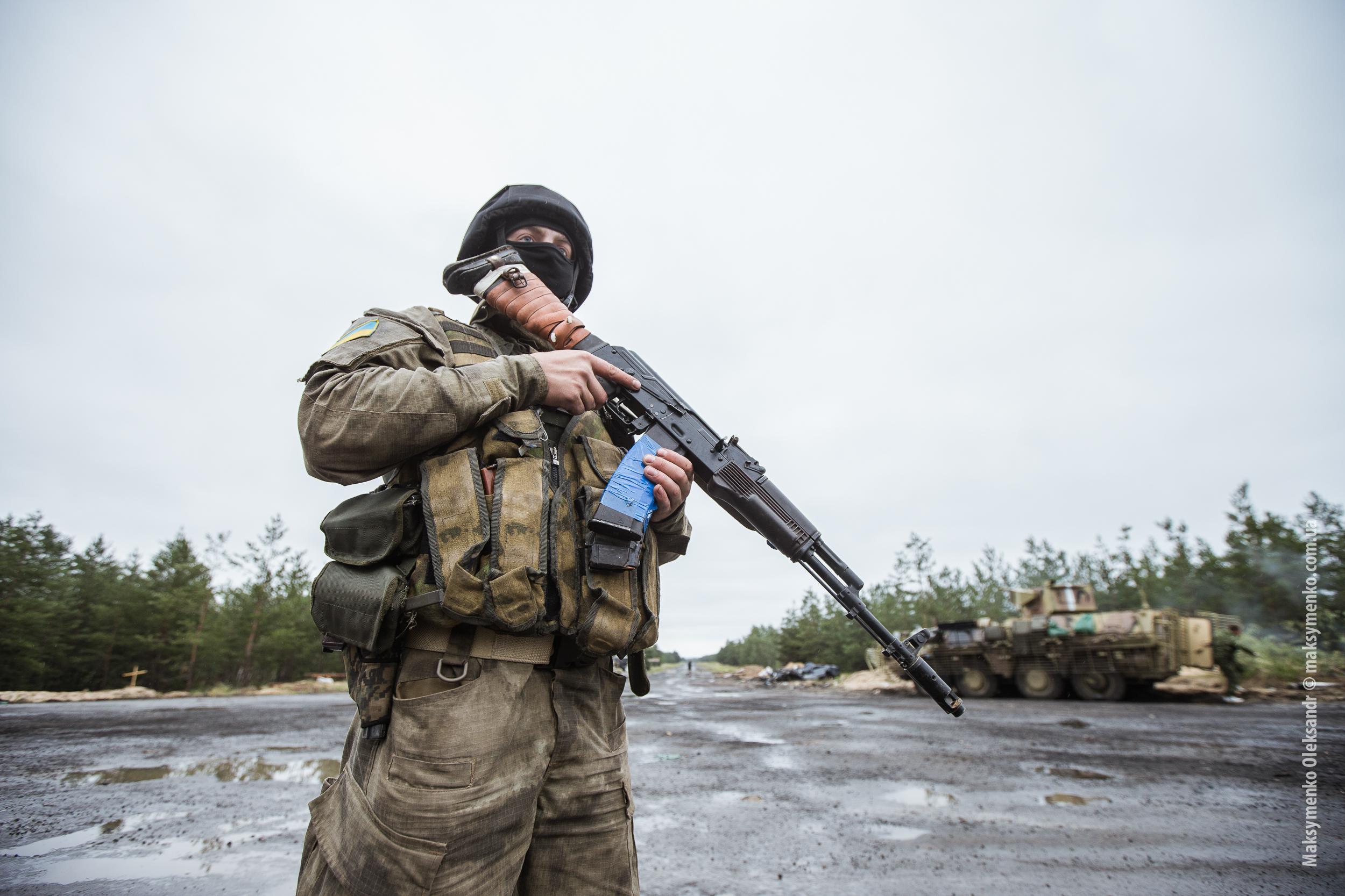 L'armée ukrainienne coupe une route vers Sloviansk - Crédits Sasha Maksymenko