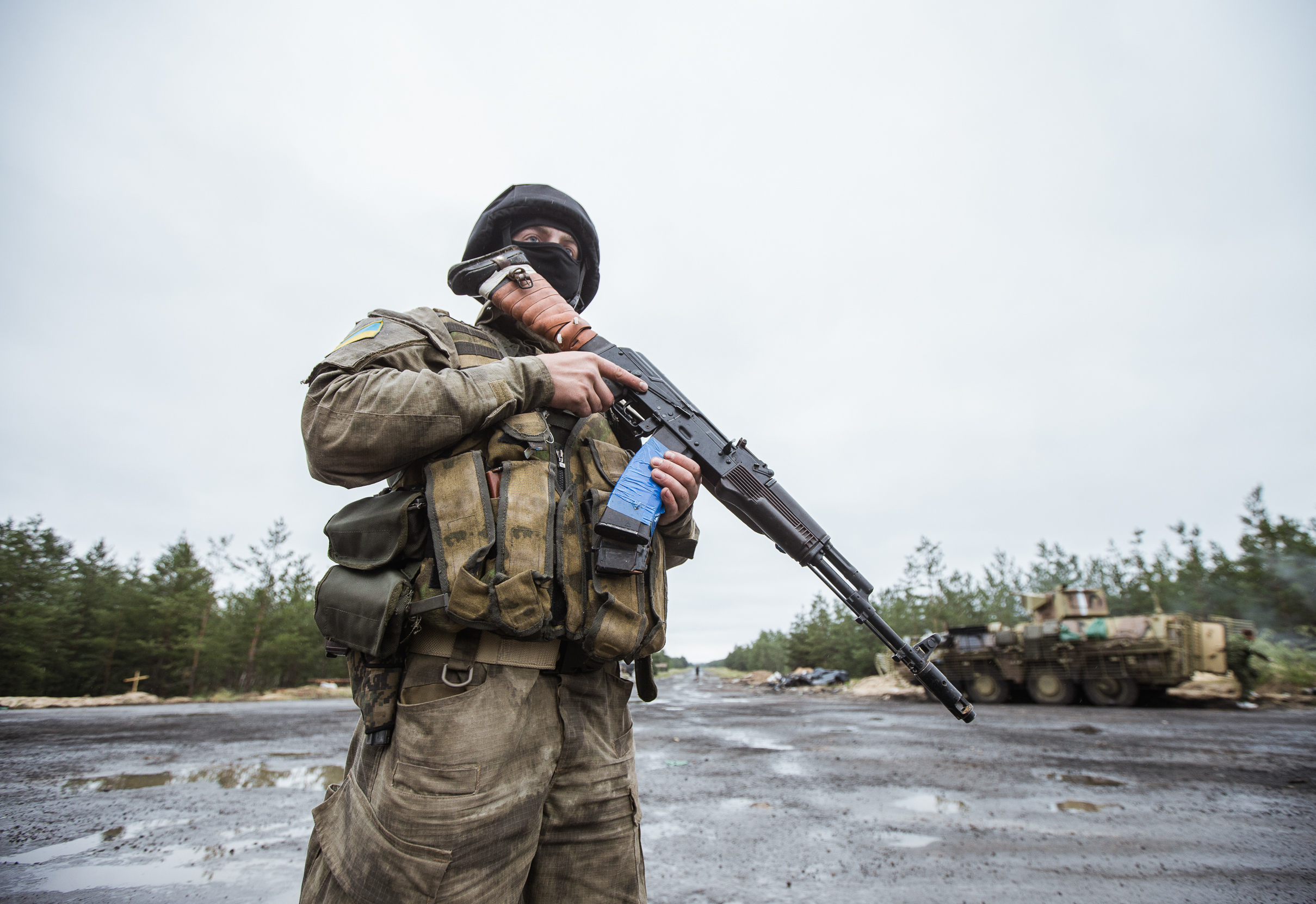 Up in Arms : How Ukraine is being supplied weapons in the name of peace